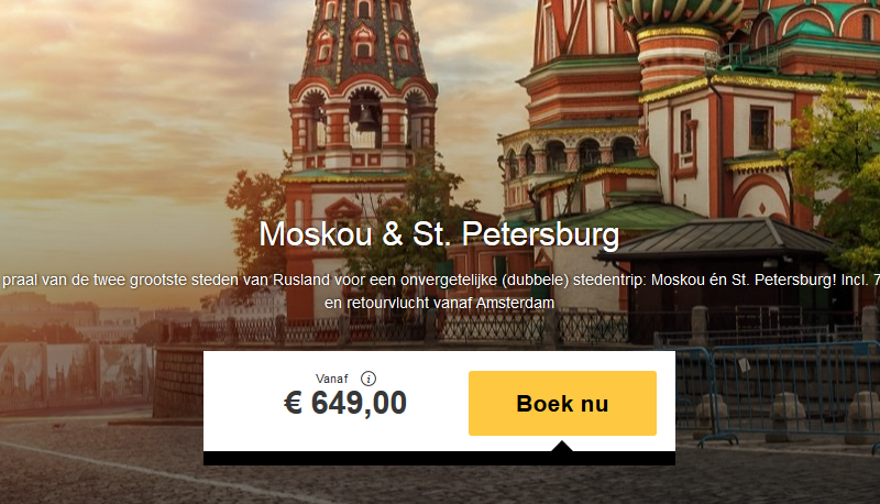 stedentrip moskou tips