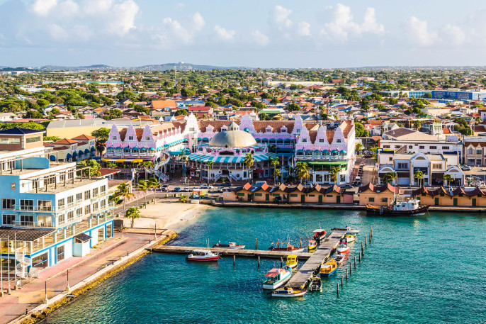 Colorful Oranjestad Aruba