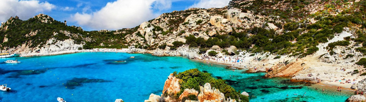 zonnig Sardinië