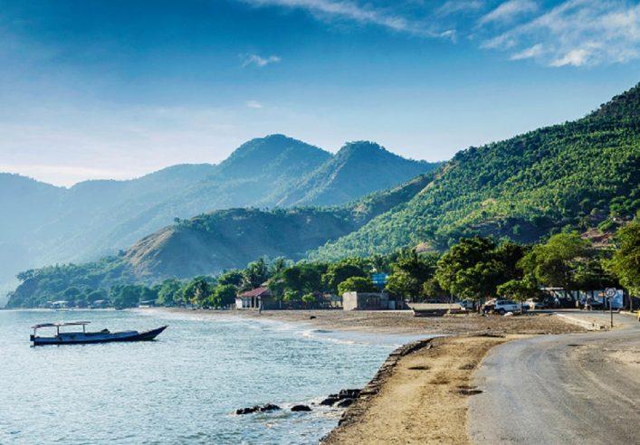 Dili beach oost Timor