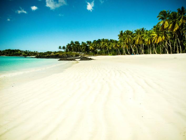 Strand op de Comoren