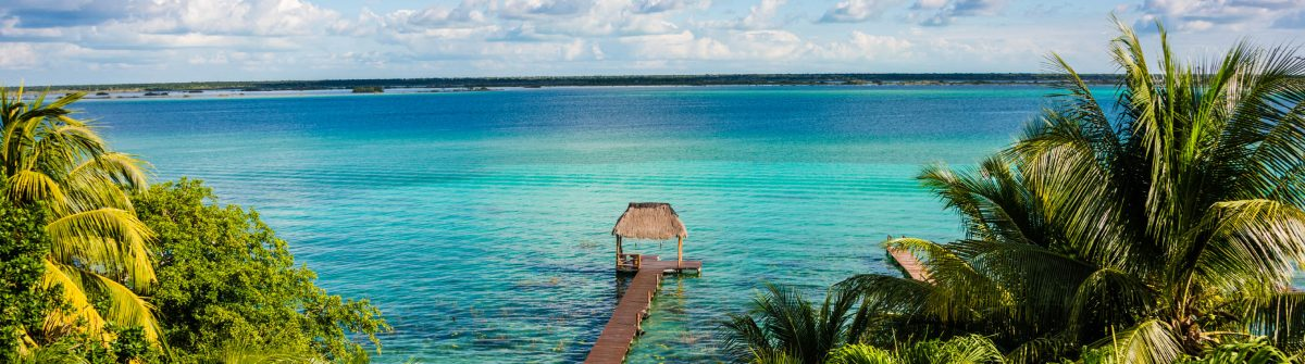 Bacalar Lake at caribbean. Quintana Roo Mexico, Traveling Rivier