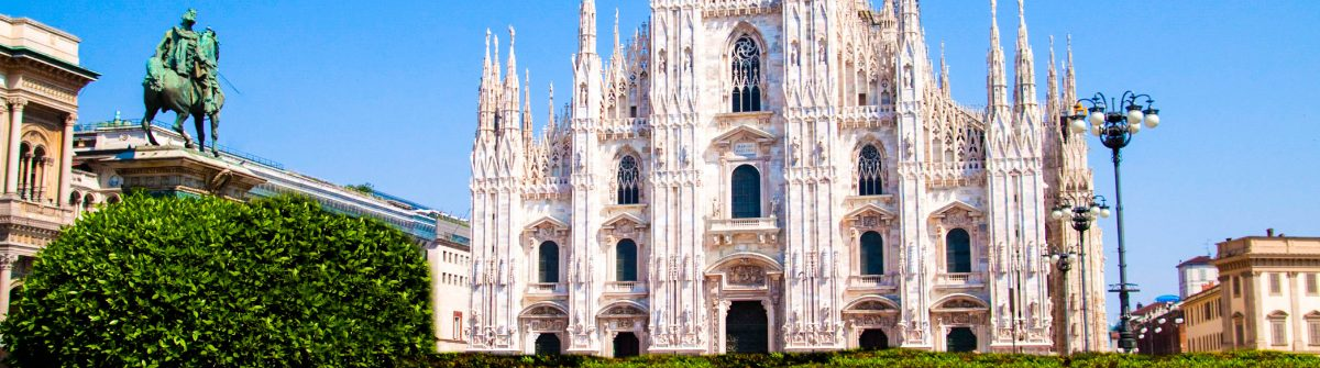 Duomo of Milan Cathedral – Lombardia Italy iStock_000012620182_Large-2