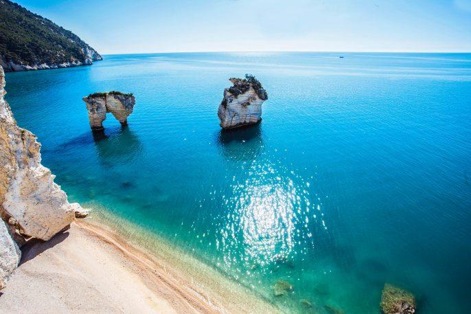 Italian seashore Puglia Italy iStock_000058511102_Large-2