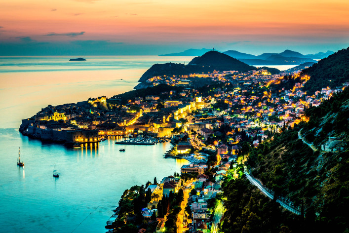 Dubrovnik Night iStock_000042444168_Large-2