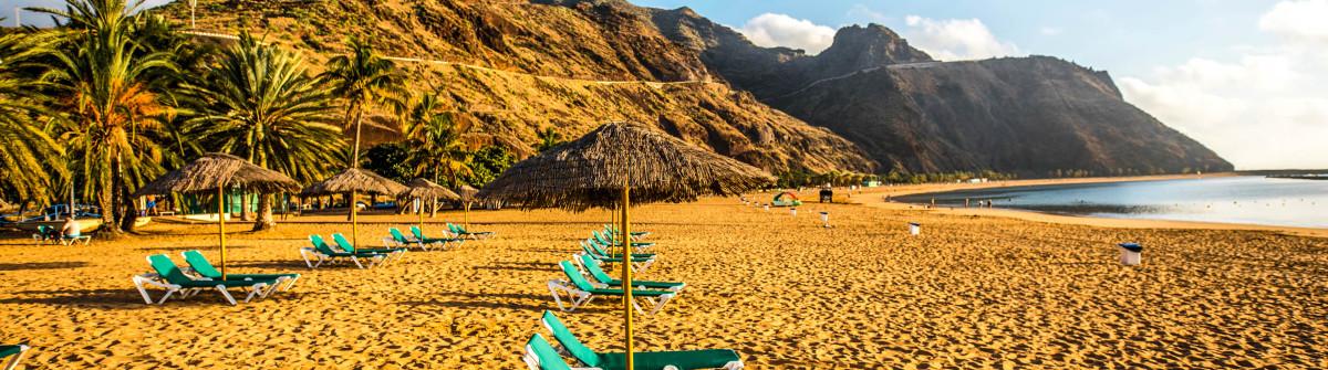 Teresitas beach near Santa Cruz de Tenerife
