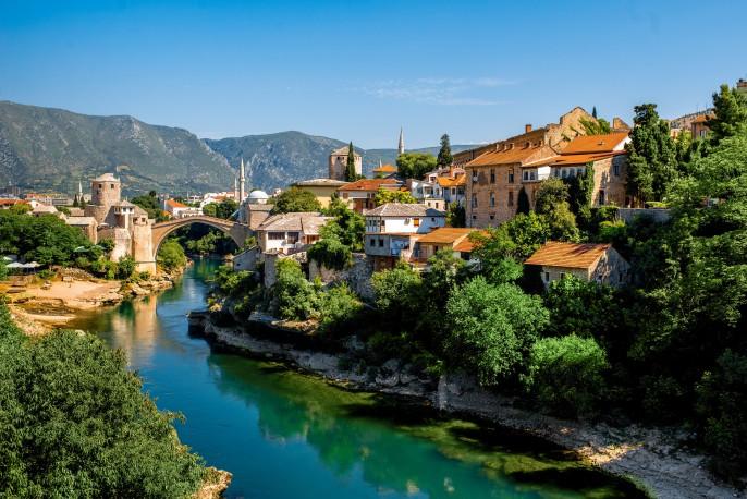 Mostar City shutterstock_291941063