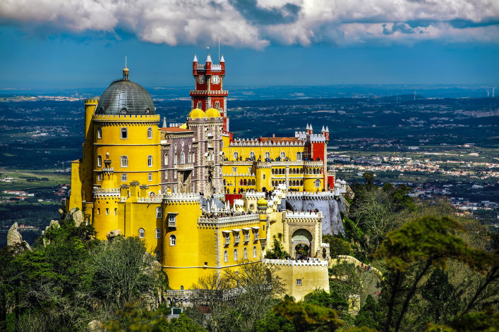Pena National Palace, Sintra, Portugal shutterstock_403148269-2