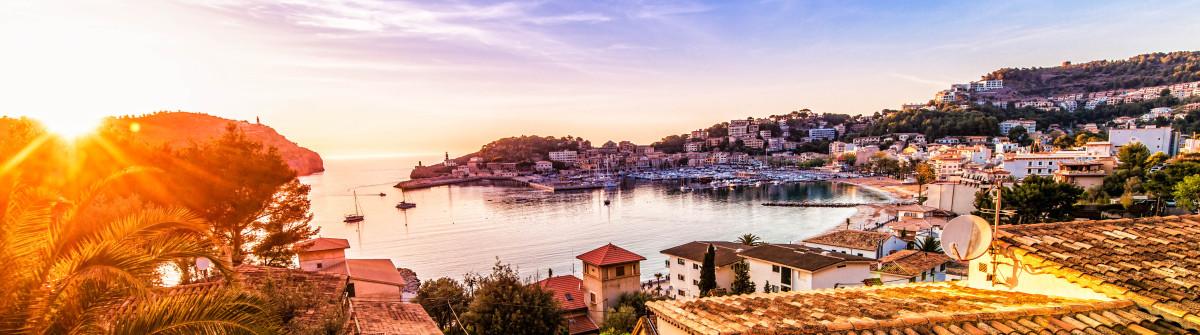 Sunset in Port De Soller (Mallorca)