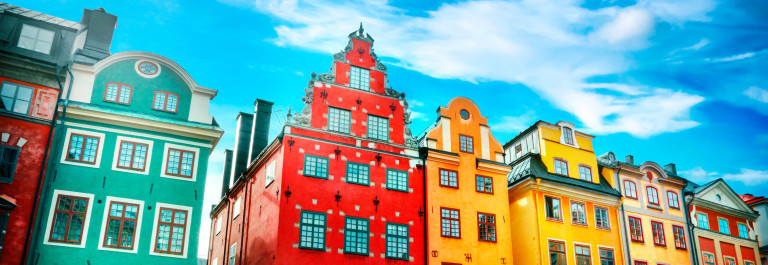 vliegtickets Stockholm zomervakantie