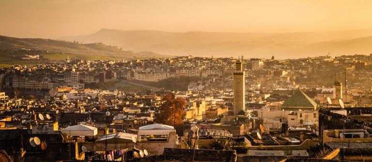 Uitzicht over Fez