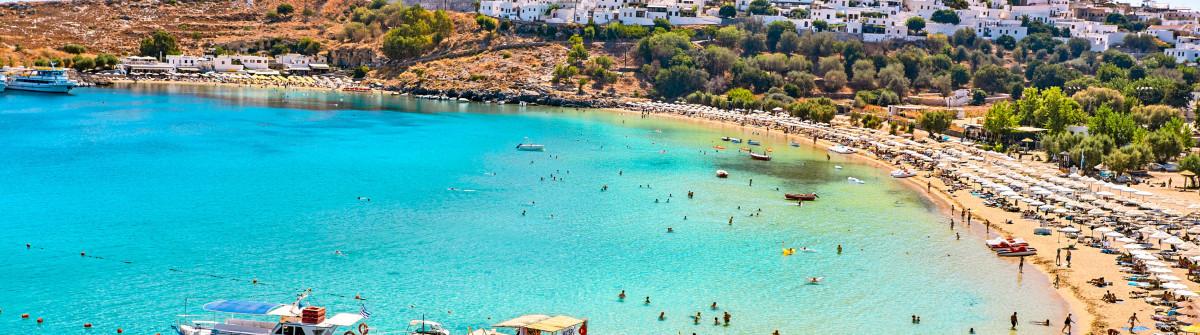 St.Paul's Bay, Rhodes Island, Greece