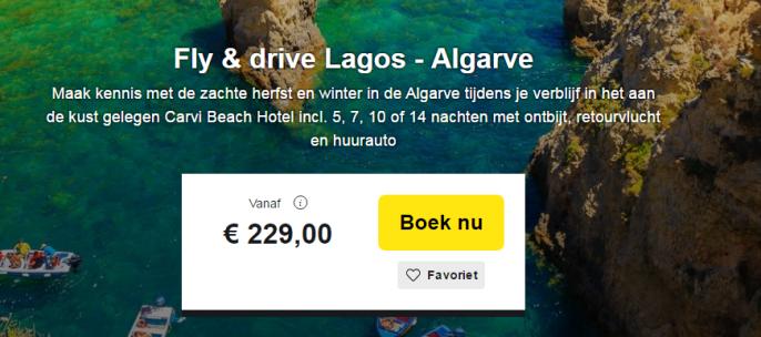 Algarve Lagos Vakantie