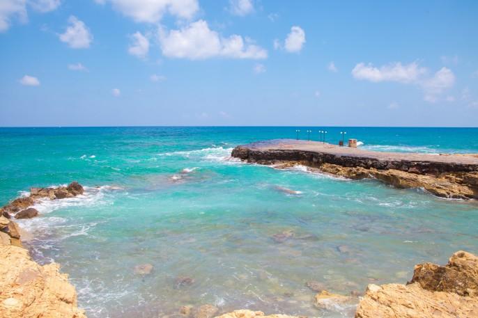 Beautiful sea in Hersonissos on Crete. Greece_shutterstock_452831959