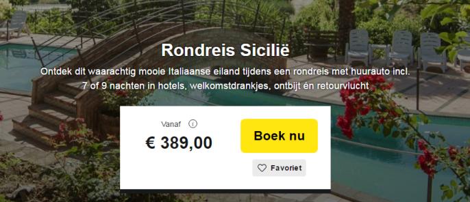 Sicilie Rondreis