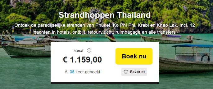 Thailand Strandhoppen