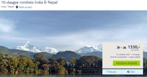 rondreis india nepal