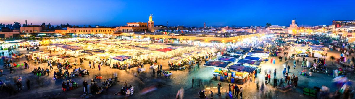 Marrakech in de zomervakantie