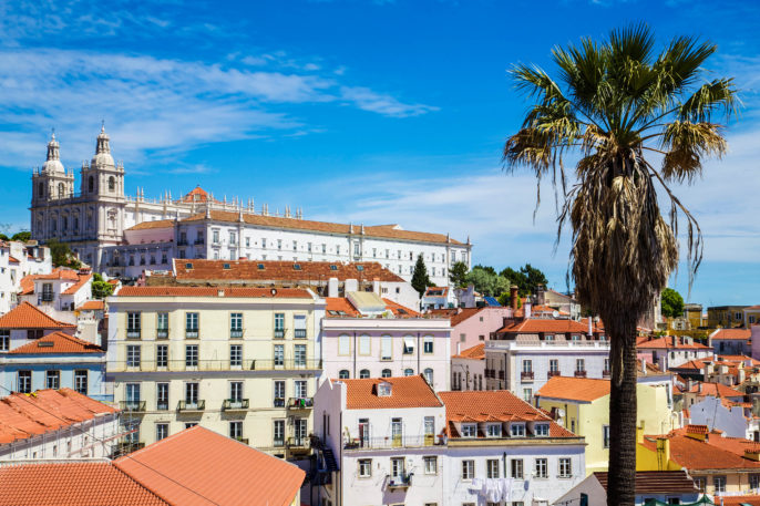 Kloster S?o Vicente de Fora, Lissabon