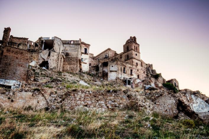 Spookdorp Craco in Italie