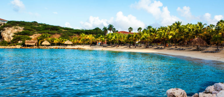 Blue Bay beach, Curacao