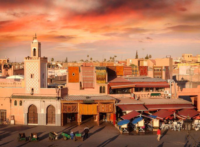 goedkope stedentrip Marrakech