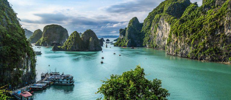 De baai van Halong