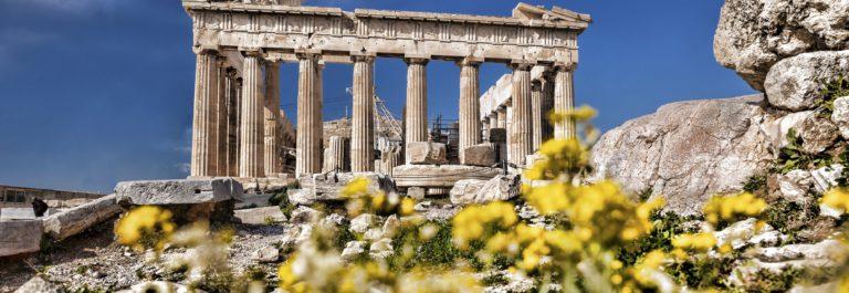 zonnig Griekenland