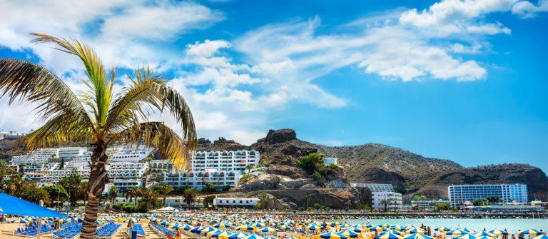 op Gran Canaria