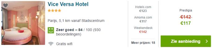 vice versa hotel parijs