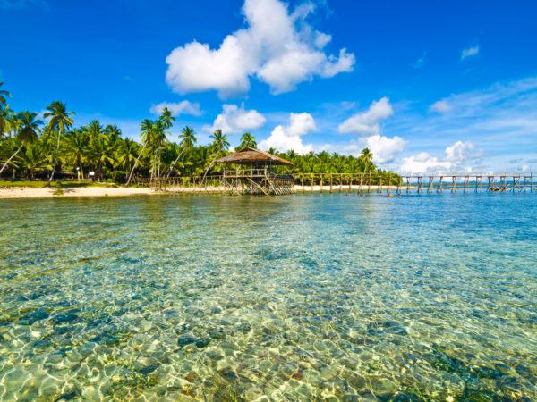 Helder water op de Filipijnen