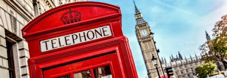 Retourtickets Londen