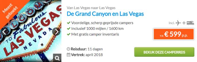 Camperreis Las Vegas