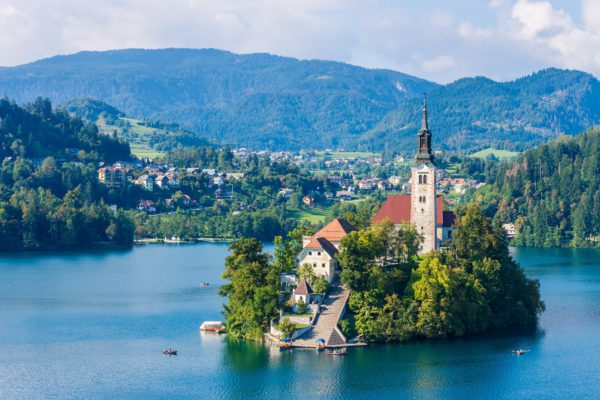 Bled in Slovenië