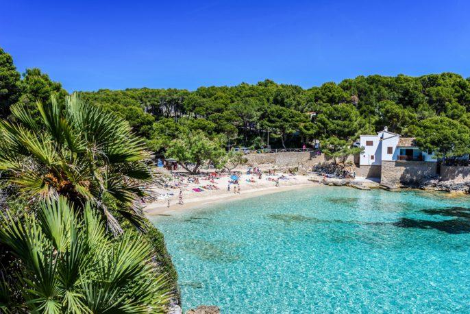 Cala Gat at Ratjada, Mallorca – beautiful beach and coast