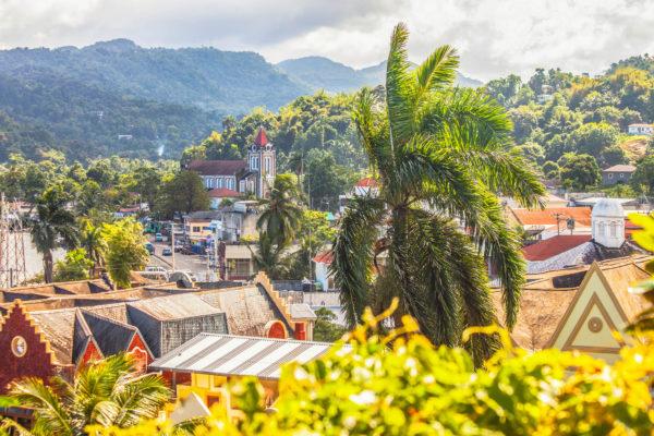 het eiland jamaica