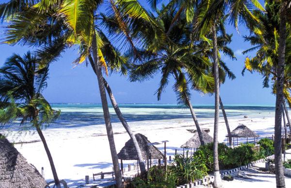 Stranden van Tanzania
