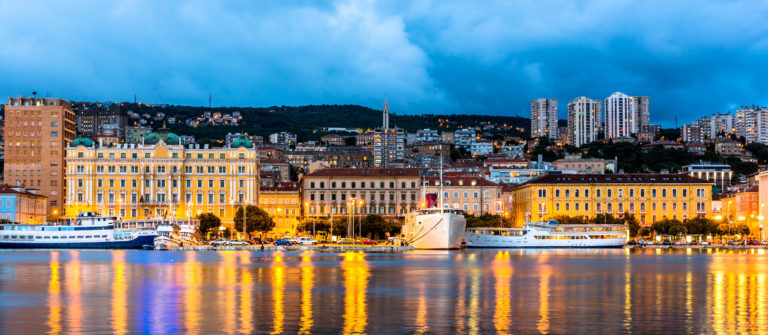 View of Rijeka city in Croatia shutterstock_225579808-2