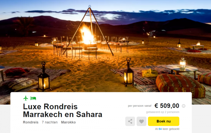 rondreis marrakech