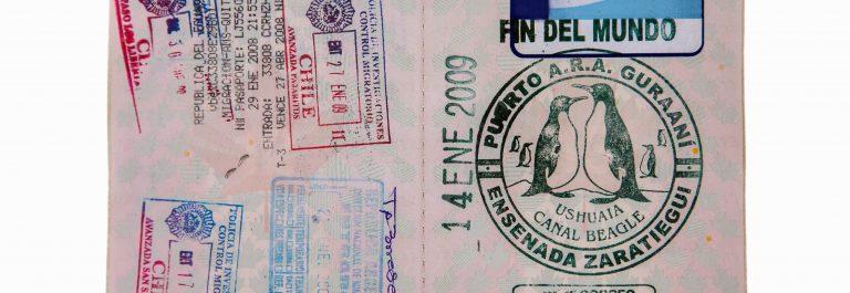 paspoort stempels
