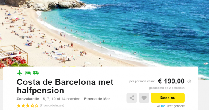 Costa Barcelona 199
