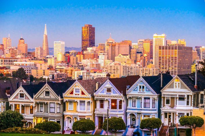San Francisco tips painted ladies