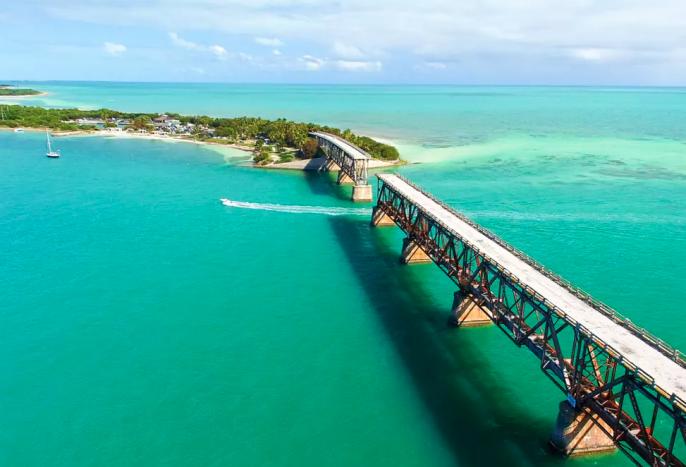 Op weg naar Key West