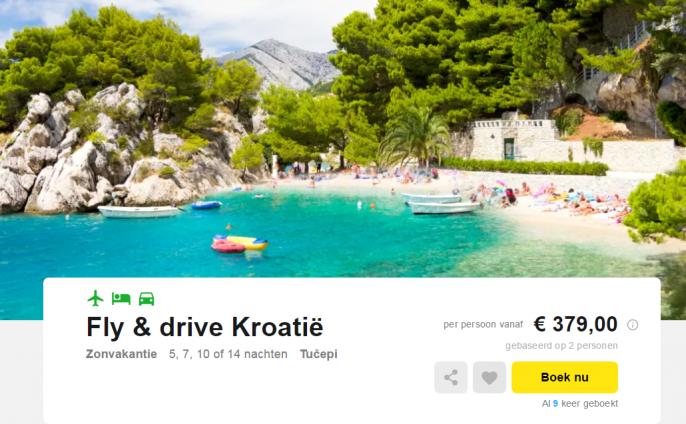 fly drive kroatië