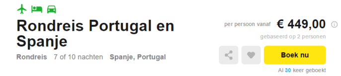 rondreis portugal en spanje