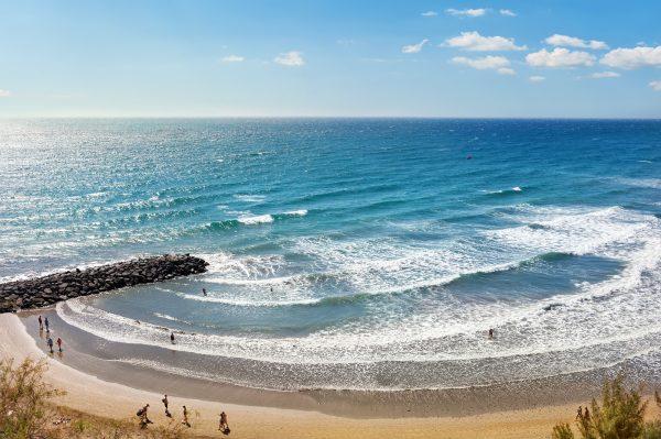 strand op gran canaria