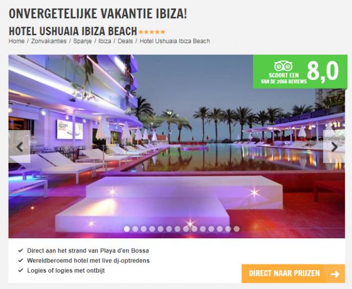 Vakantie Ibiza