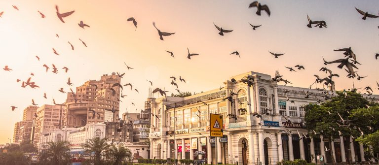 Connaught Place, New Delhi, India – CNGLTRV1109