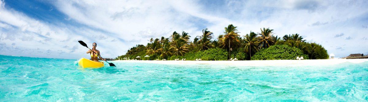 Malediven Kayak
