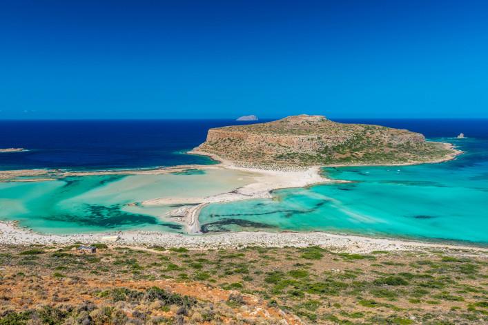 Kreta tips huurauto, de lagune van Balos